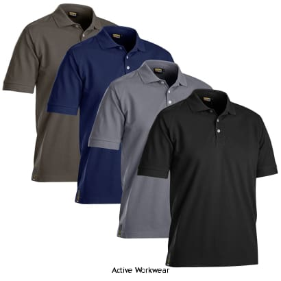 Blaklader Pique Work Polo Shirt. Moisture Wicking (Breathable) - 3326 - Shirts Polos & T-Shirts Blaklader