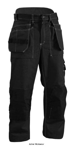 Blaklader Quilt Lined Winter Knee Pad Work Trousers with Nail Pockets - 1515 - Black 9900 / (C48)W32 X L31 - Kneepad Trousers Blaklader