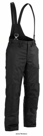 Blaklader Winter Knee pad Trousers with Braces. Wind & Waterproof - 1810 - Trousers Blaklader