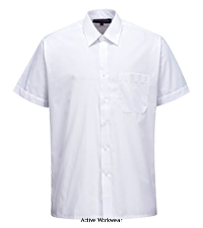 Classic Shirt Short Sleeve. - S104 - Shirts Polos & T-Shirts PortWest
