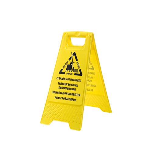 Cleaning In Progress Sign - HV22 - Miscellaneous PortWest