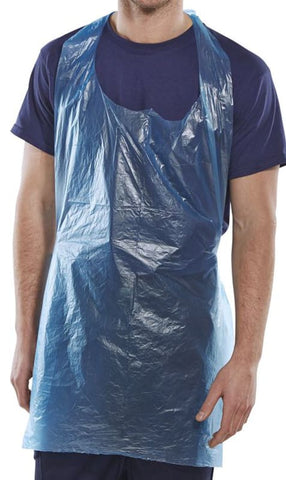 Click Disposable Aprons Blue 42X27 (Pack Of 1000) - Dab42Dp - Disposable Clothing ClickOnce