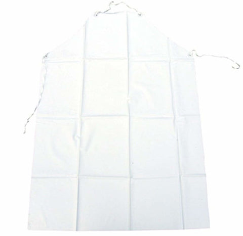 Click Pvc Lightweight Work Apron White 48X36 (Pack Of 10) - Palww48 - Disposable Clothing clickworkwear