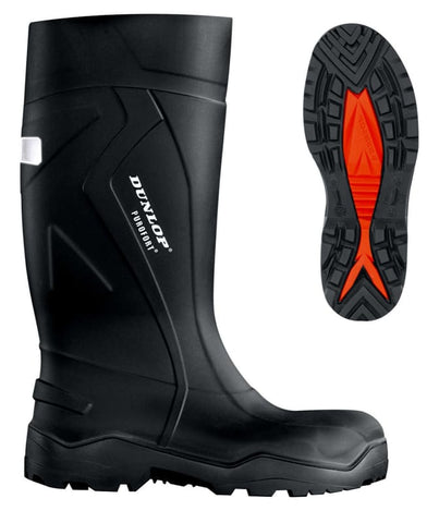 Dunlop Purofort Thermo To -20°C  Full Safety Steel toe and Midsole Wellington Boot  - C762041 - Wellingtons Purofort