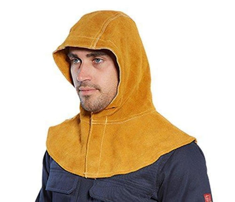 Flame Retardent Leather Hood Welding - SW33 Portwest