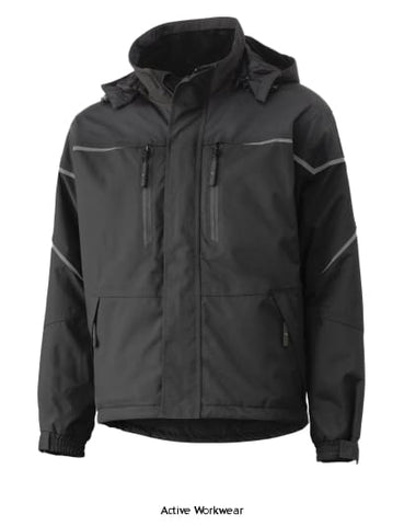 Helly Hansen HH Workwear Waterproof Insulated Kiruna Work Jacket- 71333 - Workwear Jackets & Fleeces Helly Hansen