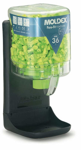 Moldex 7725 Pura-Fit Dispenser (With 250 Pairs Of Ear Plugs) - M7725 - Ear Protection moldex