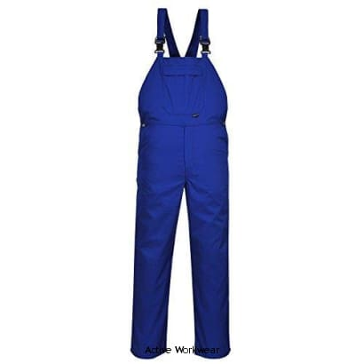 Burnley Bib and Brace - C875 - Royal / Large - Boilersuits & Onepieces Portwest