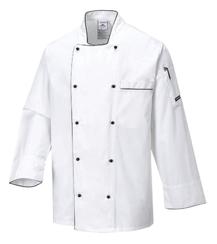 Portwest Executive Chefs Jacket - C776 - Catering & Hospitality PortWest