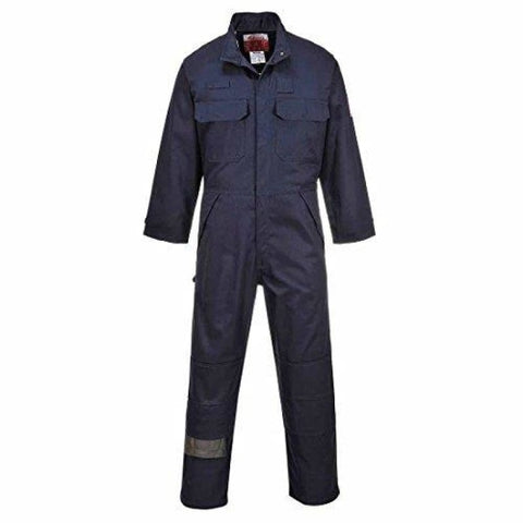 Portwest Flame Retardent Multi-Norm FRAS Coverall - FR80 - 4XL / Navy - Boilersuits & Onepieces Portwest