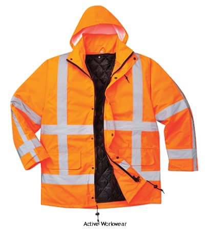 Portwest High Vis RWS Traffic Jacket - R460 - Hi Vis Jackets PortWest