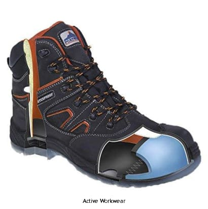 Portwest Composite Air Safety Boot - FC57 - Black / 39 - Boots Portwest