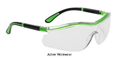 Portwest Neon Safety Spectacle - PS34 - Eye Protection PortWest