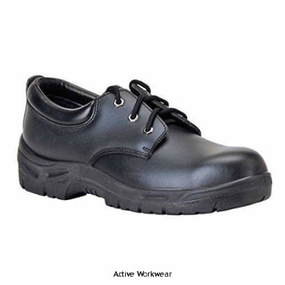 Portwest S3 Stee lite Safety Shoe - FW04 - 37 / BLACK - Shoes Portwest