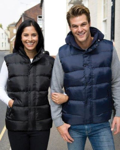 Result Core Nova Lux Padded Bodywarmer (Water Repellent and Windproof) R223X - Workwear Jackets & Fleeces - Result