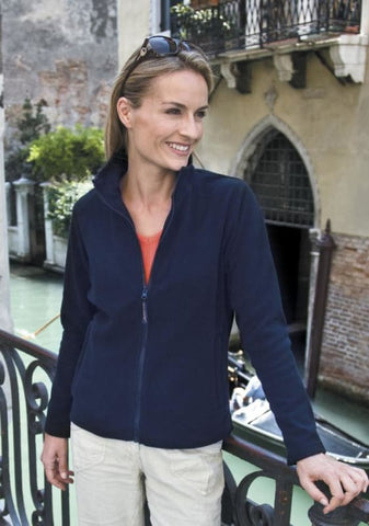 Result La Femme Microfleece Jacket-R115F - Jackets Gilets & Fleeces Result