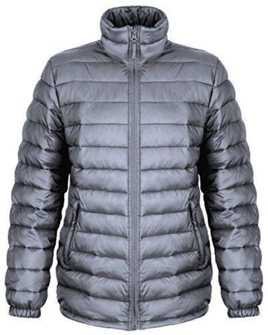 Result Urban Ladies Ice Bird Padded Jacket - R192F - Frost Grey / XL - Jackets & Fleeces Result Urban Outdoor Wear
