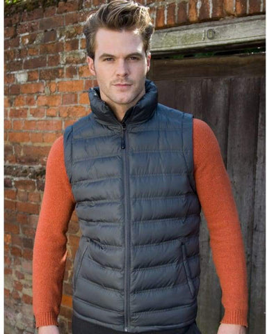 Result Urban Mens Ice Bird Padded Gilet - R193M - Jackets Gilets & Fleeces Result Urban Outdoor Wear