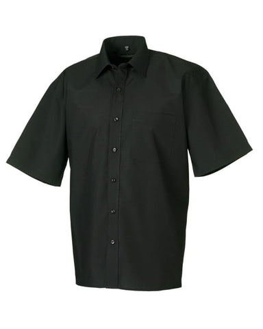 Russell Collection Men's Poplin Shirt-935M - Shirts Polos & T-Shirts - Russell Collection