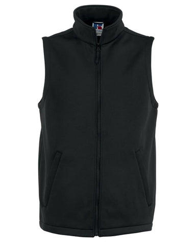 Russell Mens Smart Softshell Gilet/Bodywarmer -R041M- Jackets Gilets & Fleeces Russell Collection