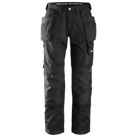 Snickers Lightweight Summer Work Trousers with Kneepad and Holster Pockets-3211 - Kneepad Trousers - Snickers