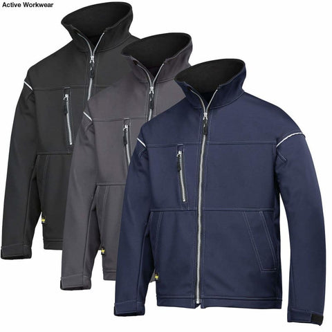 Snickers Softshell Profiling Work Jacket Windproof Water Repellent & Breathable - 1211 - Workwear Jackets & Fleeces - Snickers