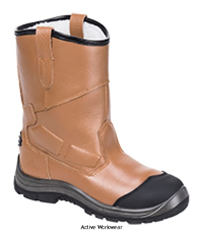 Steelite Pro Rigger Safety Boot S3 Scuff Cap steel toe and midsole size 38 -48 - FT12 - Riggers - Portwest