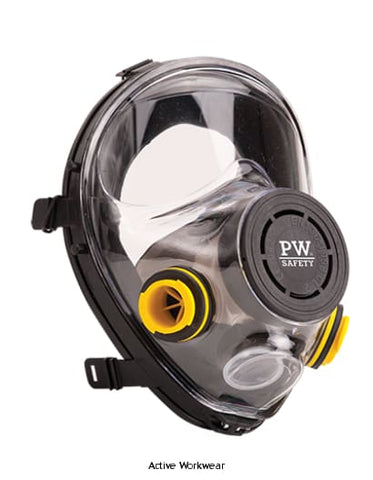 Vienna Full Face Mask Bayonet Connection - P500 - Respiratory Portwest
