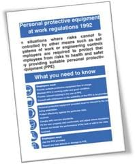 Personal Protection Equipment at work regulations 1992