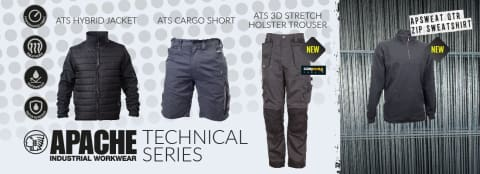 apache shorts - apache technical workwear active workwear leeds