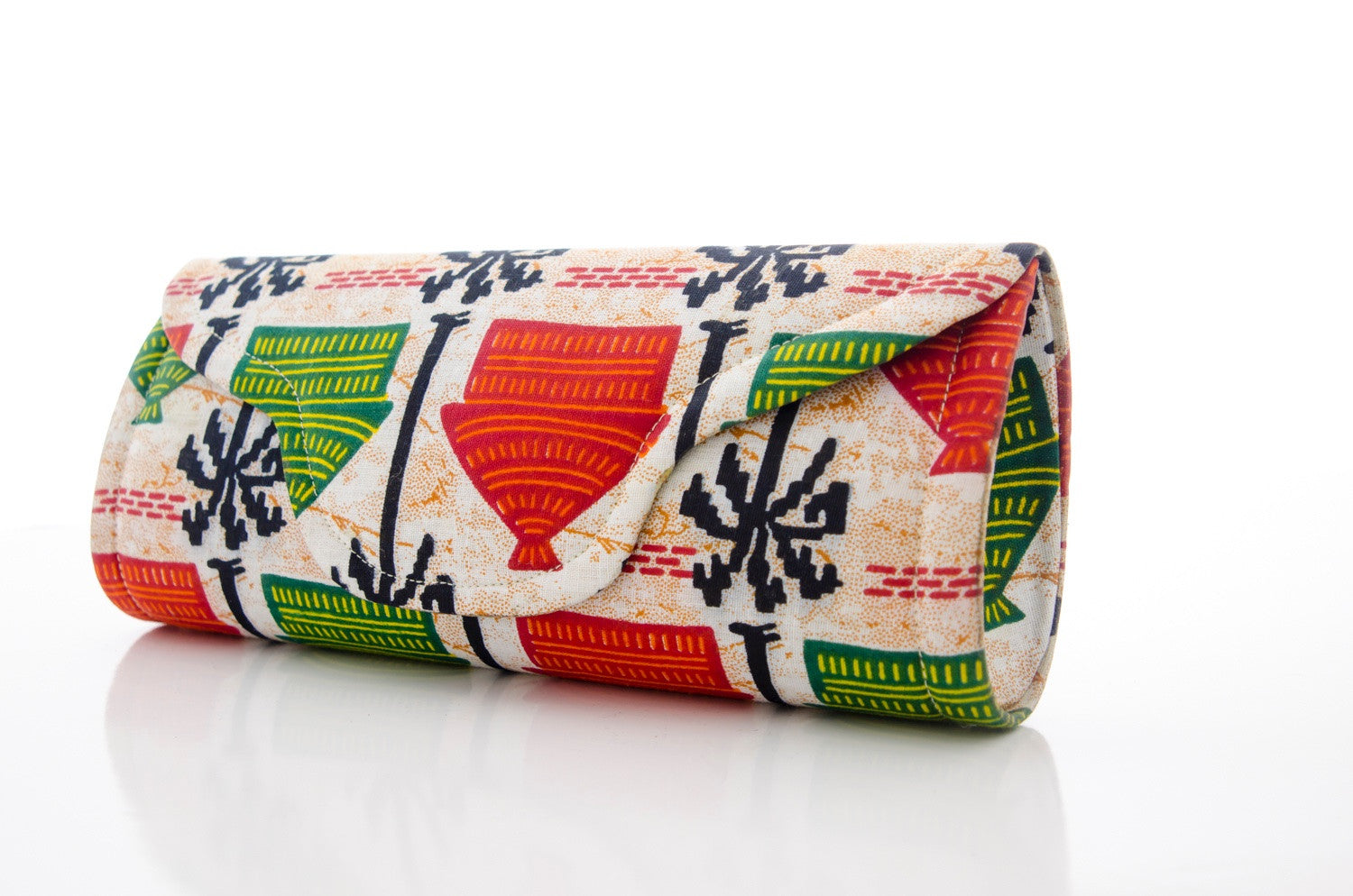 Ankara, clutch, Awntaa, Shop Awntaa, made in mali
