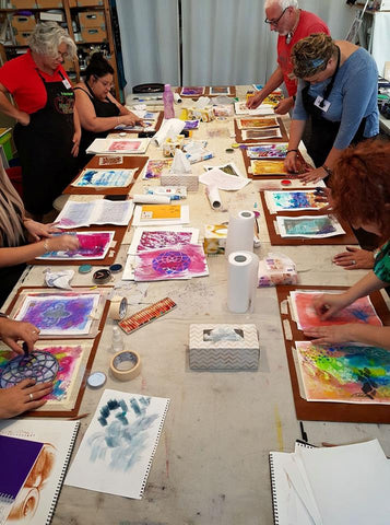 Saturday Paintaway (Paint All Day) Workshops | 2019