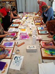 Saturday Paintaway (Paint All Day) Workshops | 2020