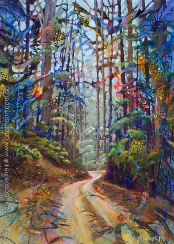 """Forest to Heaven"" by Jacqueline Hill, Limited Edition Fine Art Reproduction"