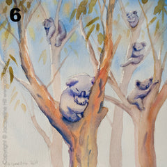 12 Days of Christmas Australia Series, Limited Edition Fine Art Reproduction