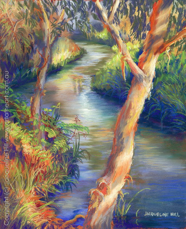 """Eli Creek"" by Jacqueline Hill, Limited Edition Fine Art Reproduction"