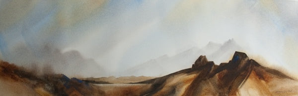 """The Guardians"" Original Watercolour Painting by Jacqueline Hill [OR201]"