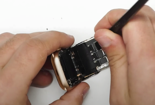 Unlocking the ribbon cable connectors