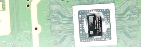What the CPU should look like before applying new thermal paste