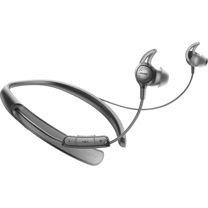 Bose QuietControl 30 QC30 Wireless Bluetooth In-Ear Headphones (Black) [Refurbished]