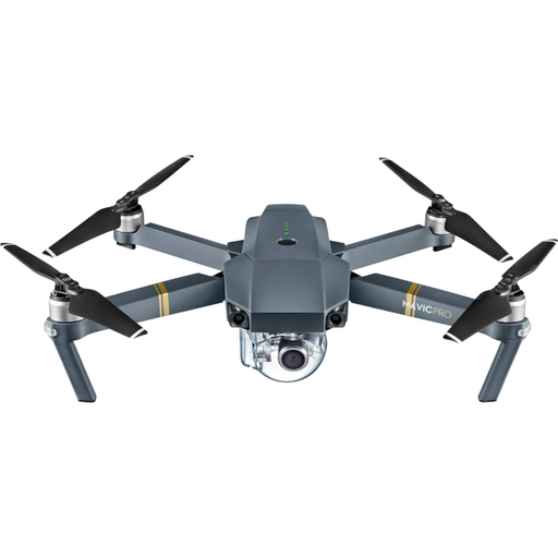 DJI Mavic Pro Quadcopter with Remote Controller (Gray) - Refurbished