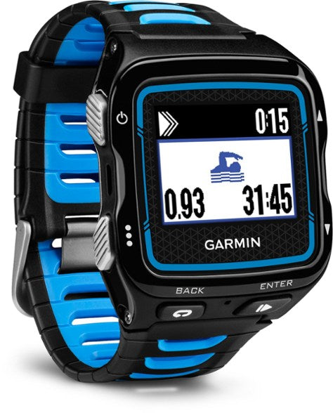Garmin Forerunner 920XT Fitness Tracker Watch (Black - Blue) - Refurbished