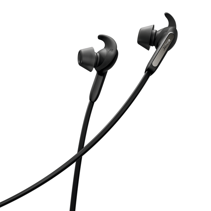 Jabra Elite 65e Alexa Wireless Stereo Neckband In-Ear Noise Cancellation [Refurbished]
