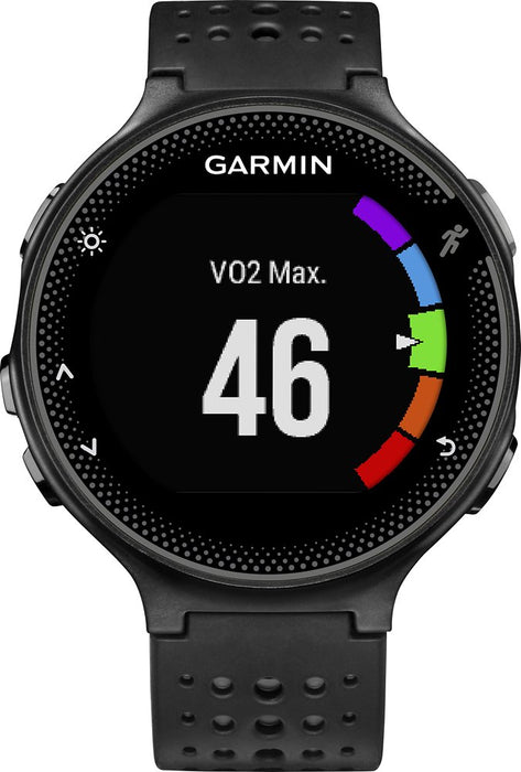 Garmin Forerunner 235 GPS Running Watch (Black Gray) - Refurbished