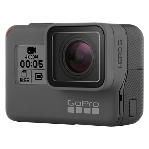 GoPro Hero 5 Black 4K 12MP Touch Screen Action Camera (Black) - Refurbished