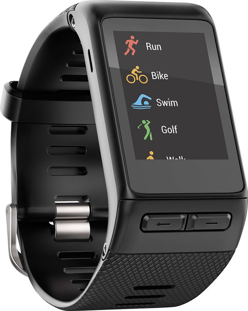 Garmin Vivoactive HR GPS Touch Screen Smartwatch (Black) - Refurbished