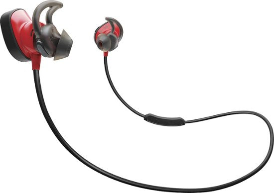 Bose SoundSport Wireless Pulse Earbuds Hear Rate Monitor (Power Red) - Refurbished