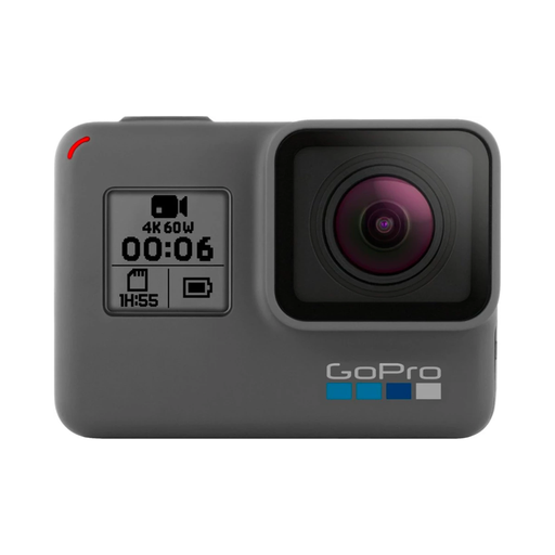GoPro Hero 6 Black 4K Digital Waterproof Action Camera Touch Screen (Black) - Refurbished