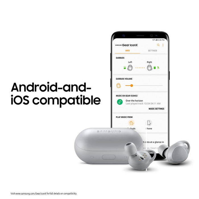 Samsung Gear IconX 2018 True Wireless Earbud Headphones [Refurbished]