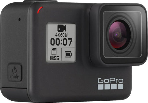 GoPro HERO7 Black 4K Waterproof Action Camera (Black) - Refurbished
